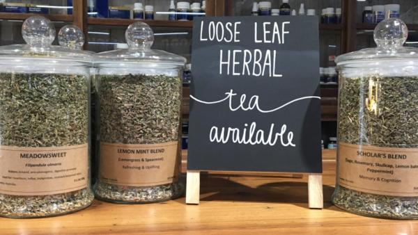 Loos leaf herbal tea cannisters