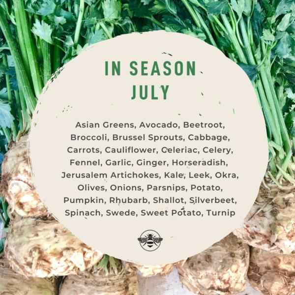 Seasonal Produce Guide: Vegetables in July