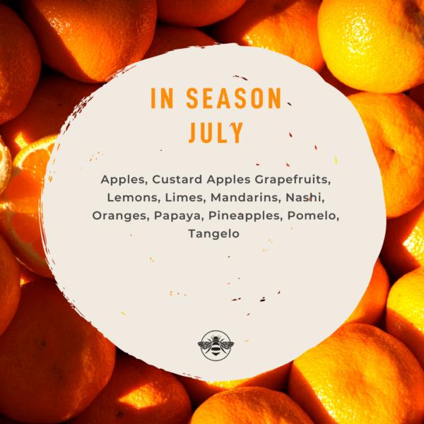 Seasonal Produce Guide: Fruit in July